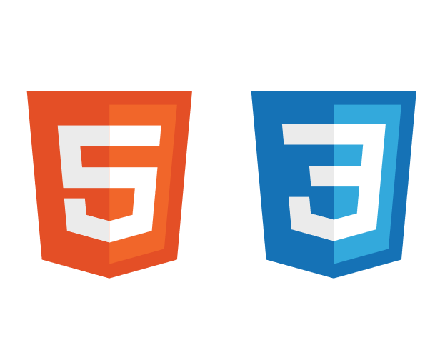 Built with HTML5 and CSS3